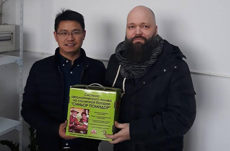 Алексей Воронин и Йичанг